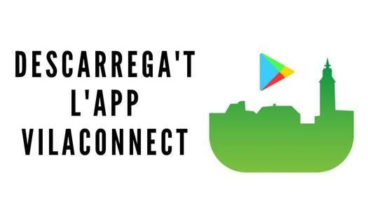 Descarrega't l'aplicació mòbil VILACONNECT per rebre tota la informació de Granyanella